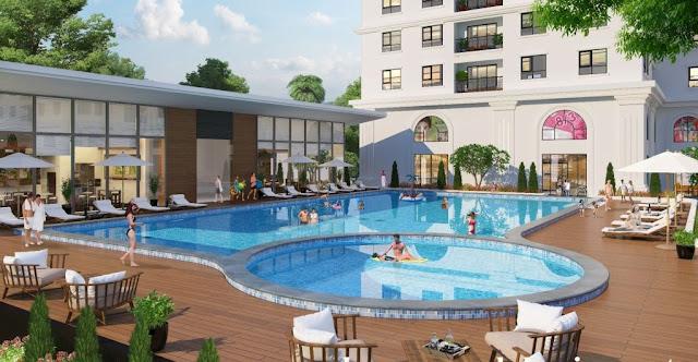 Bể bơi ECO LAKE VIEW với thiết kế đẳng cấp