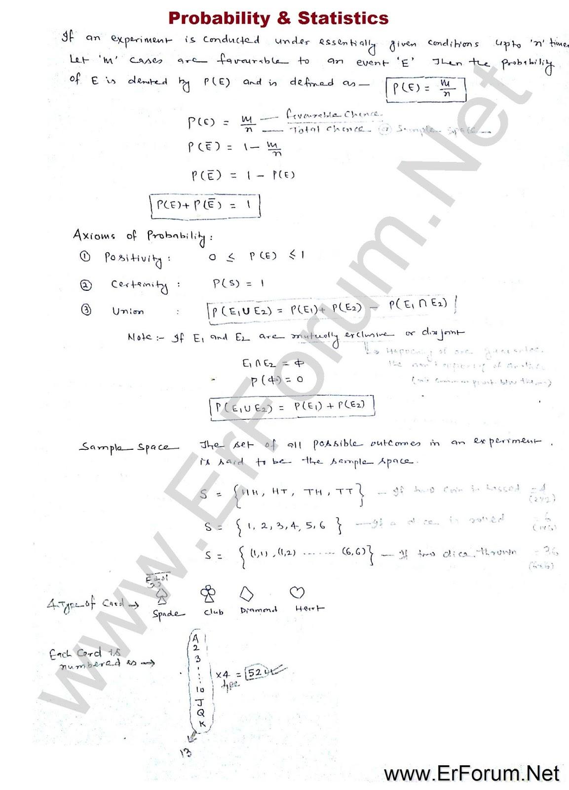 probability-statics-note-1