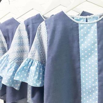 Baju Atasan Batik Dengan Kombinasi Kain Polos Terbaru