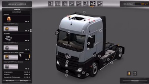 MB Actros Plastic Parts and more 3.1.4