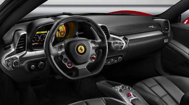 2017 Ferrari 458 Successor Interior