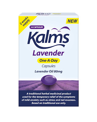Kalms Lavender One-A-Day packaging