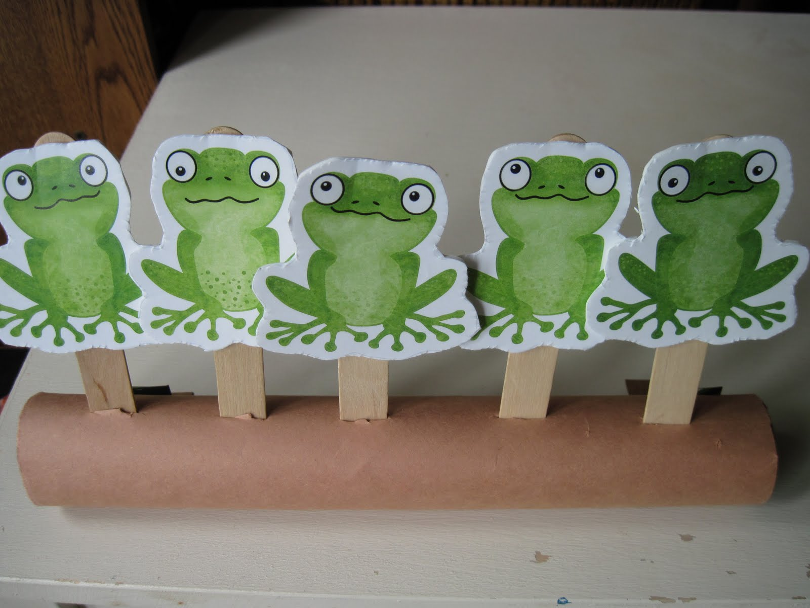Kids Matter Tuesday Teachings Five Green And Speckled Frogs