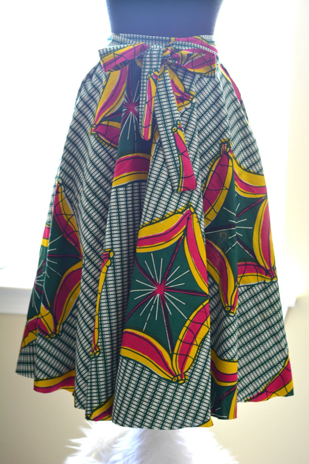 african print skirt ideas