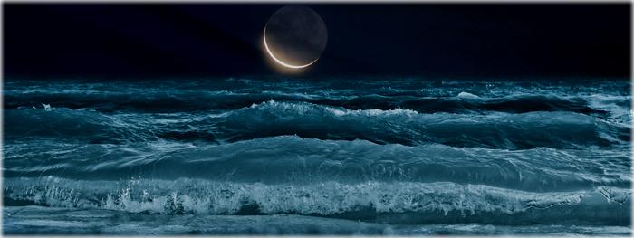 Super Lua Nova - maré alta - 25 de maio