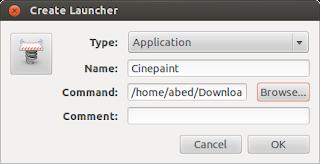 Create Launcher Ubuntu