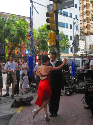 El tango, en la feria