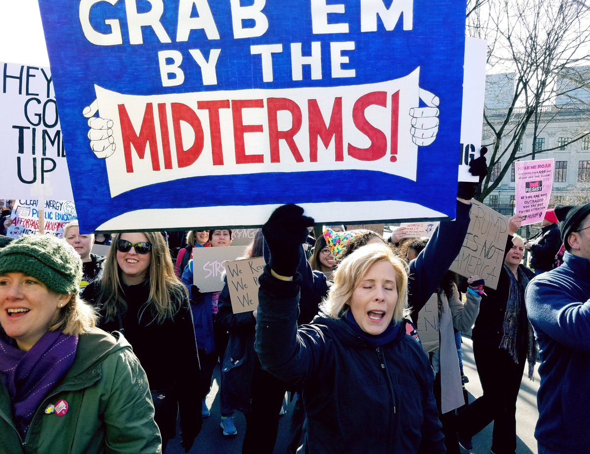 midterm election rally