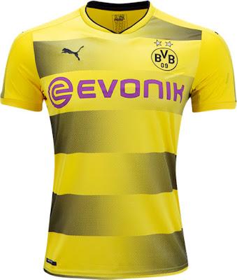 PUMA Borussia Dortmund Home Jersey 17-18