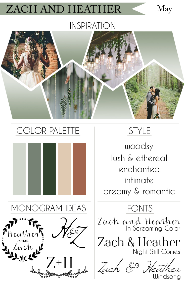 How To Style Your Dream Wedding: Lush Woodland