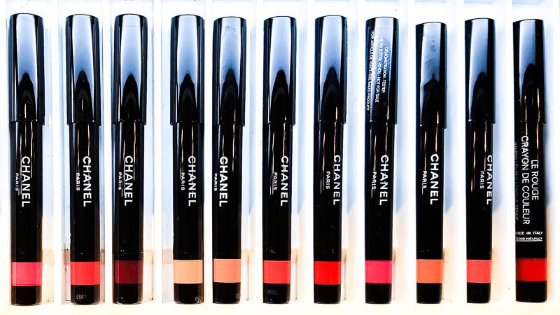 Chanel Le Rouge Crayon De Couleur - Jumbo Longwear Lip Crayon - Swatches
