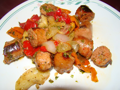 Italian Sausage vegetable Medley