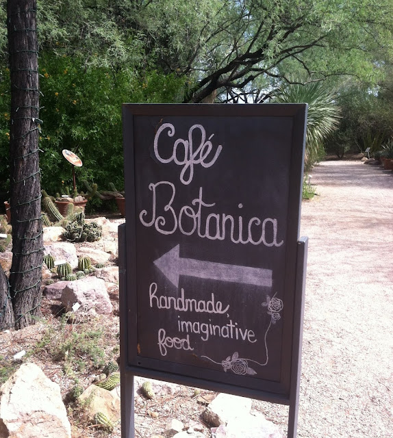 When you next visit the Tucson Botanical Gardens try to schedule your visit  to include a meal at the charming Cafe Botanica. The menu, the service, ...