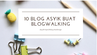 10 Blog Asyik Buat Blogwalking