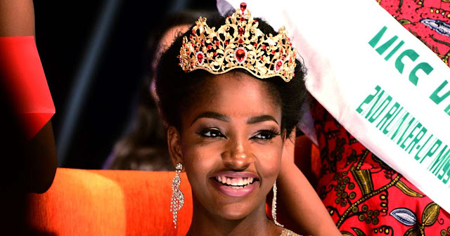 NIGERIAN YOUTH NEWS.......I am not Allowed to have a Boyfriend - Miss Nigeria!