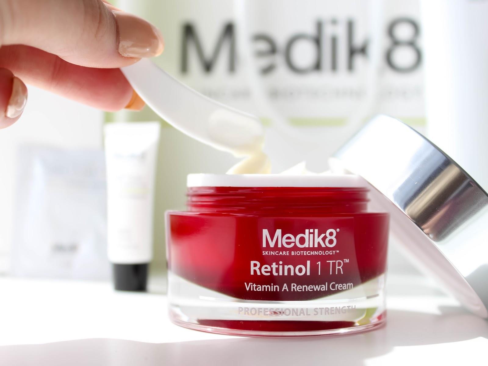 medic8 retinol1 tr noční krém recenze