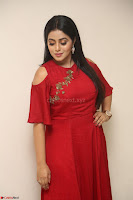 Poorna in Maroon Dress at Rakshasi movie Press meet Cute Pics ~  Exclusive 168.JPG