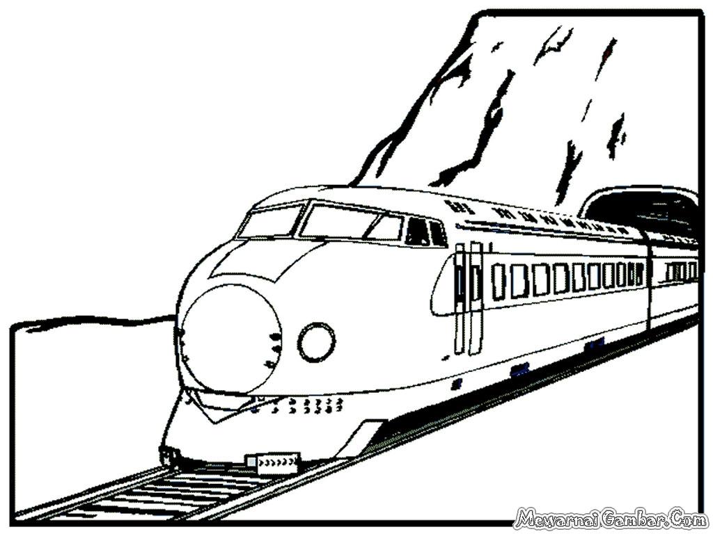 Gambar Kereta Api Untuk Mewarnai Gambar Mewarnai Anak Kereta Api Gambar Mewarnai Hd