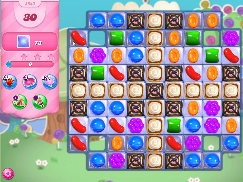 Candy Crush Saga level 3583