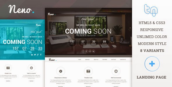Responsive Coming Soon Page