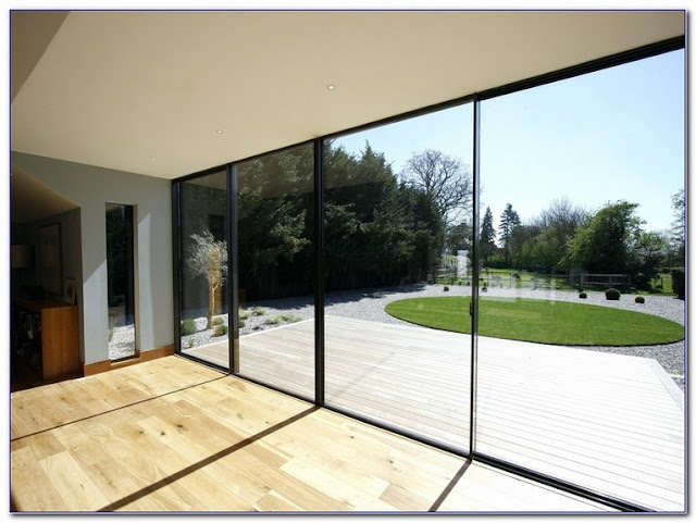 Houses With Large GLASS WINDOWS design ideas