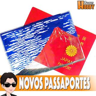 Pocket Hobby - www.pockethobby.com - Passaportes Japoneses