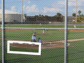 First pitch, Night Haws vs. Tritons