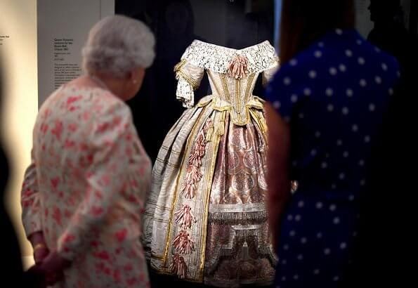 This year, Queen Elizabeth opened a new exhibition about Queen Victoria