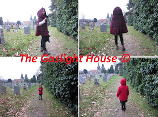 The Gaslight House, capes, red riding hood