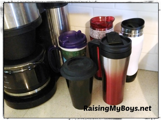 Travel Mugs #RenewableLiving
