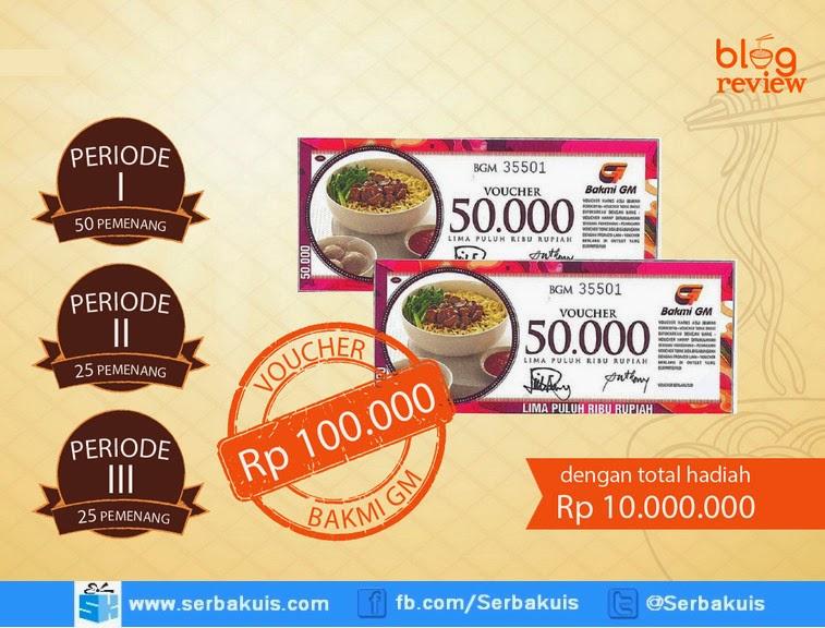 Bakmi GM Blog Review Contest Berhadiah Total 10 Juta