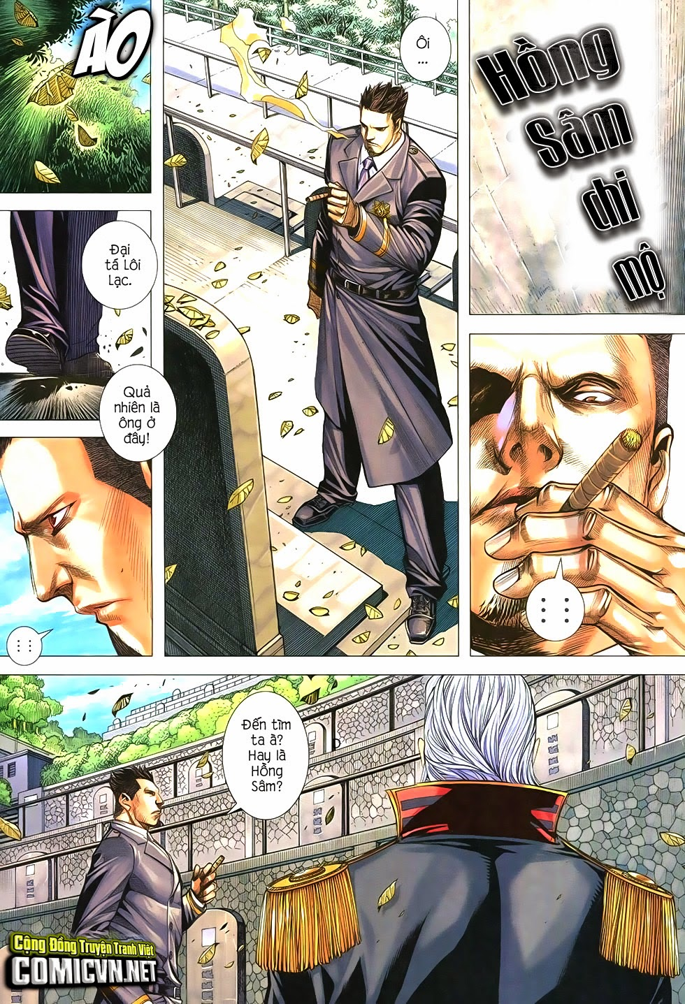 Đại Quân Phiệt chap 21 trang 19