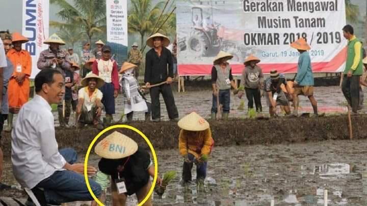 Surat Ini Membongkar Siapa yang Biayai Pencitraan Jokowi