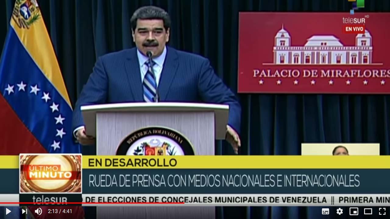 Nicolás Maduro: Sectores de prensa desinforman y manipulan sobre Vzla.