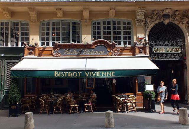 entrada a la Galeria Vivienne en París