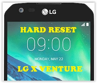 How to Hard Reset LG X VENTURE AT&T to Remove Forgotten Password