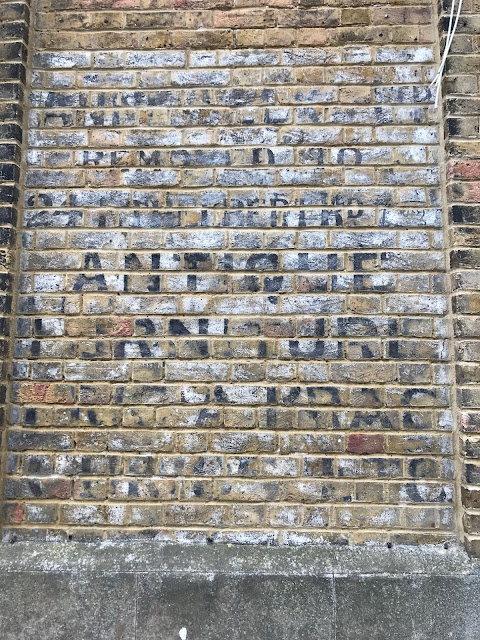 Ghost sign, Margate, Kent