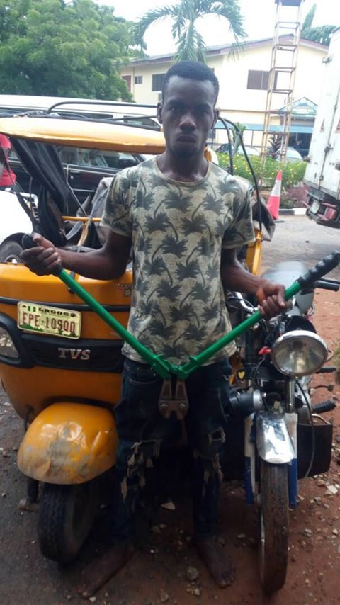 Nigeria: Lagos Task Force arrests tricycle thief