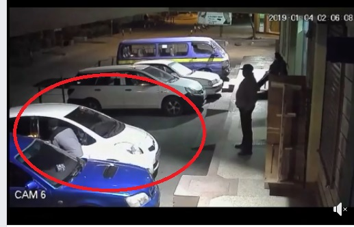 Thugs steal a saloon  car in Kiambu within 60 seconds and it was captured on CCTV(Watch).