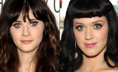 Zooey Deschanel & Katy Perry