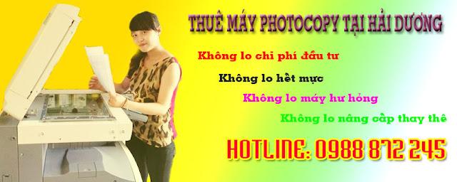 thue may photocopy hai duong