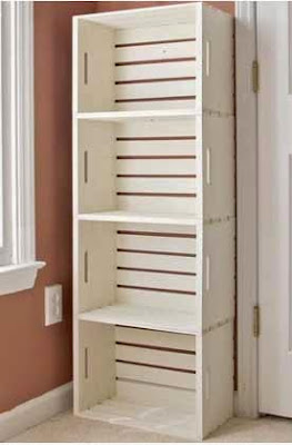 cómo hacer un depósito de madera con cajas, convertir cajas de madera en armario, muebles de madera con cajas recicladas