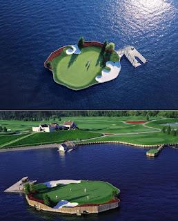 Những thiết kế sân golf độc đáo nhất thế giới.