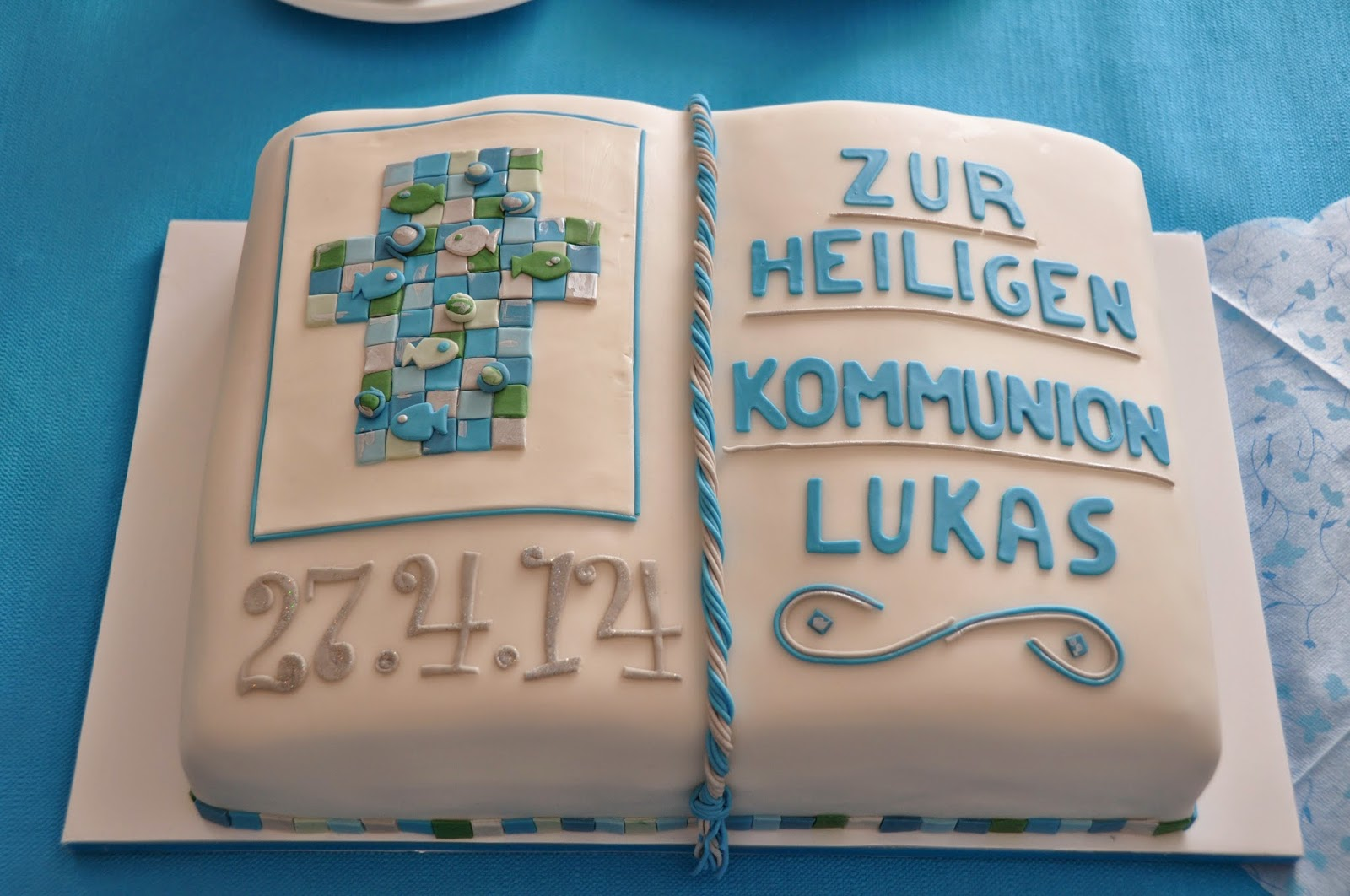 Cakez ... Creations with heART: Kommunion