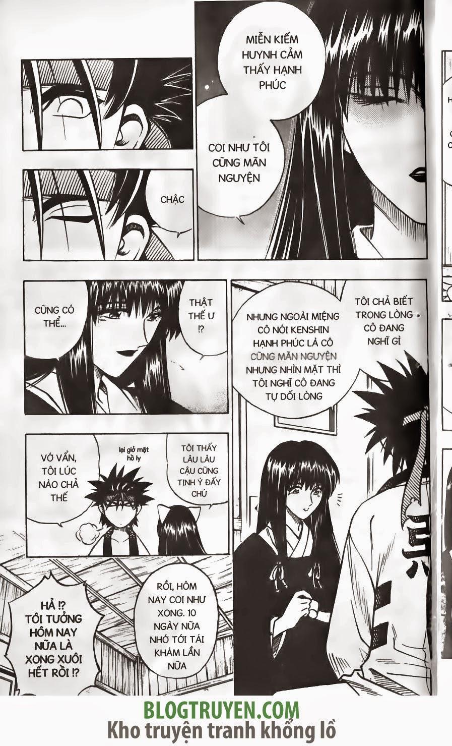 Rurouni Kenshin chap 152 trang 12