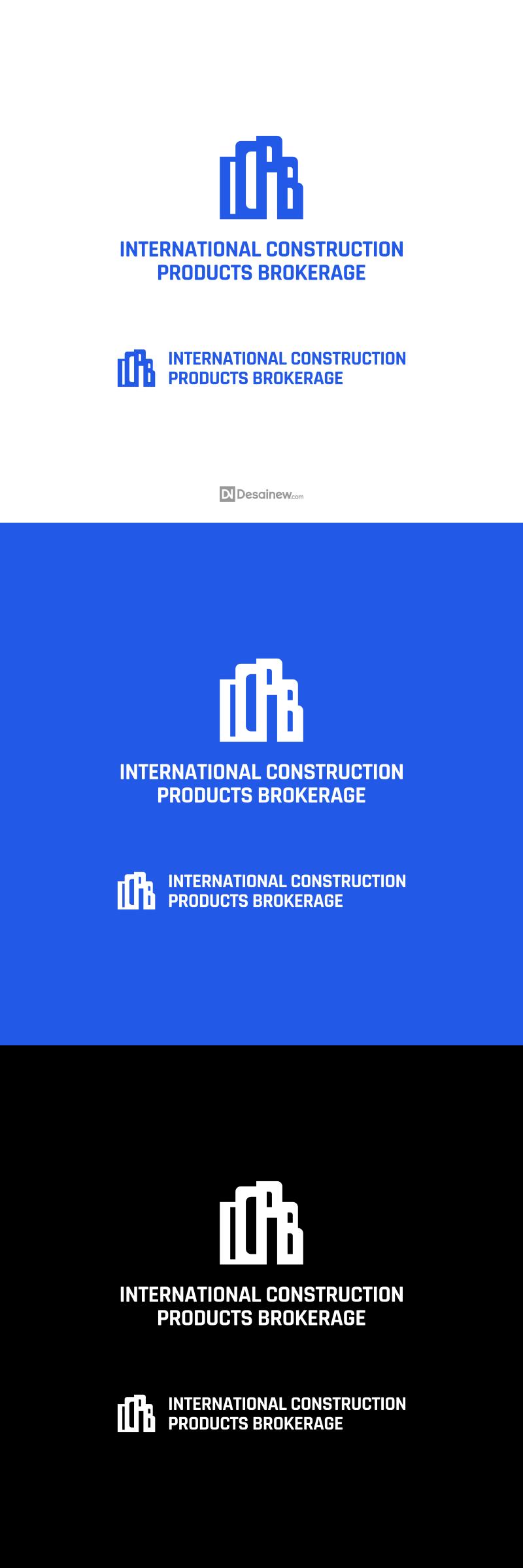 International Construction Products Brokerage Logo Design Project Portfolio Desainew Studio