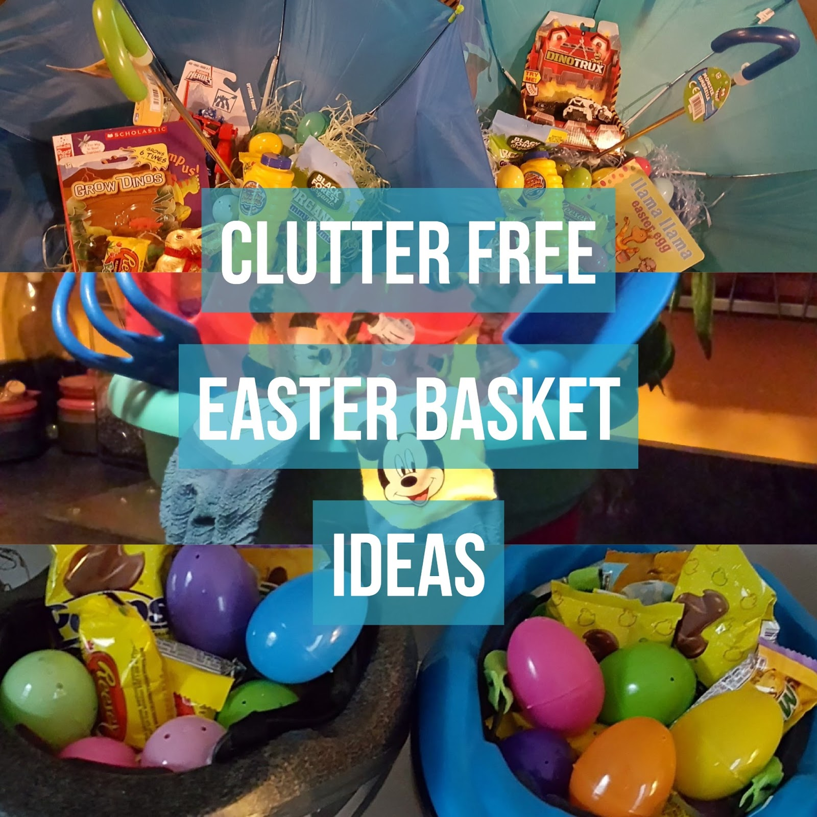 Simple solutions organizing clutter free easter basket ideas clutter free easter basket ideas negle Gallery