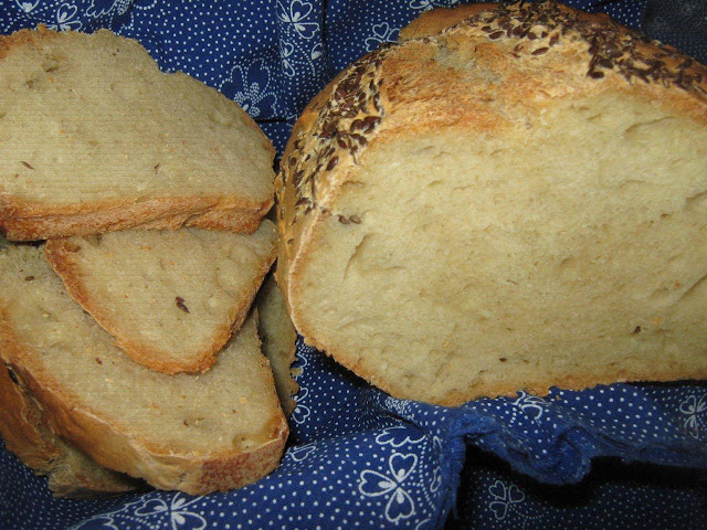saját sütésű kenyér