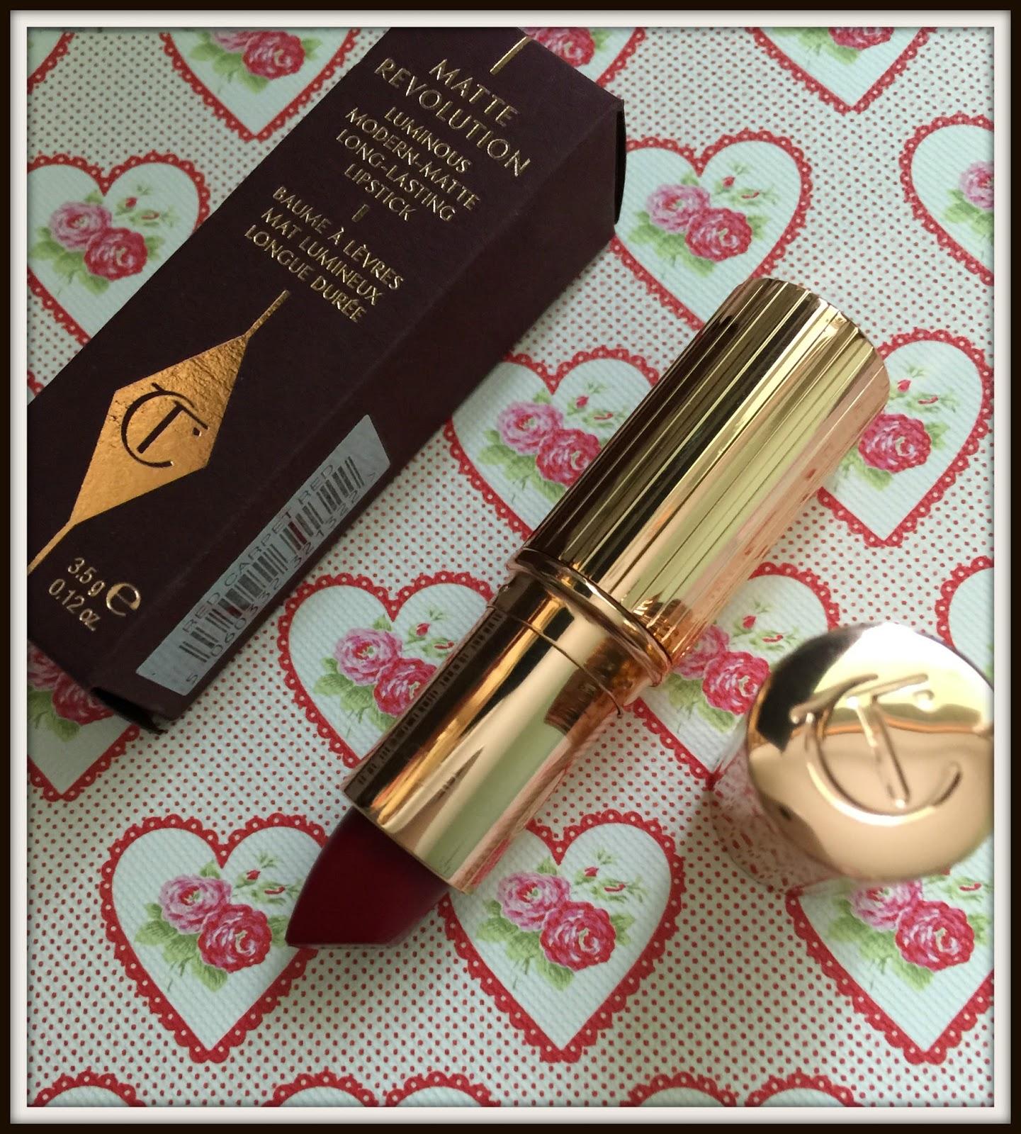 Charlotte Tilbury Matte Modern Revolution Lipstick In Red