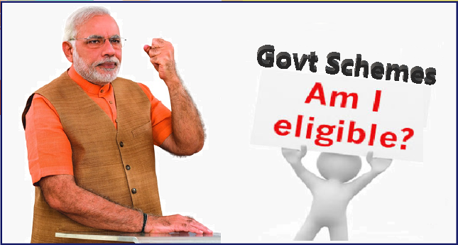 Check Your Eligibility for All govt schemes 2019